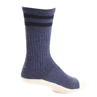 Pro Feet Postal Approved Cushioned Crew Health Socks - Small