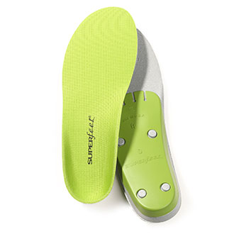 SUPERFEET Mens Trim-to-Fit Green Insoles NON REIMBURSABLE ITEM