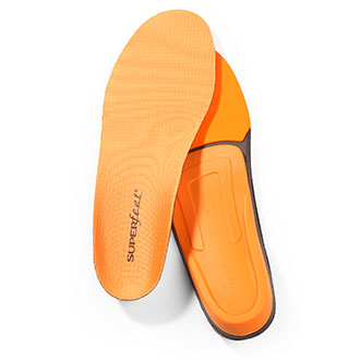 SUPERFEET Mens Trim-to-Fit Orange Insoles NON REIMBURSABLE ITEM