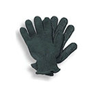 Knit Gloves with Black Dot Palms for Letter Carriers and Motor Vehicle Service Operators - Medium