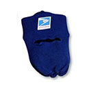 Knit Postal Cap with Face Mask for Letter Carriers and Motor Vehicle Service Operators