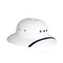 Plastic Sun Helmet for Letter Carriers and Motor Vehicle Ser