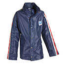 Women's Traditional Postal Hooded Rain Jacket for Letter Car