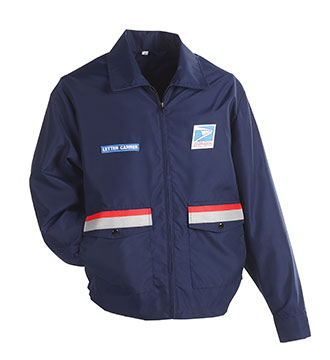 Postal Lightweight Windbreaker for Women Letter Carriers and Motor Vehicle Service Operators