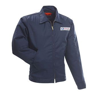 (Postal Uniform Jacket for Mail Handlers and Maintenance Personnel