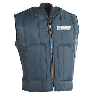 Insulated Postal Vest for Mail Handlers and Maintenance
