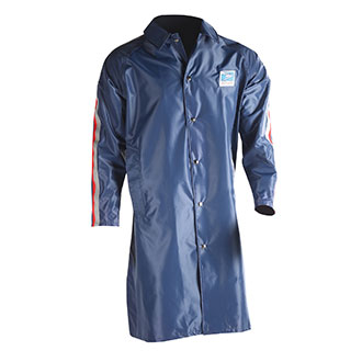 Womens Traditional Postal Full Length Raincoat for Letter Carriers and Motor Vehicle Service Operators
