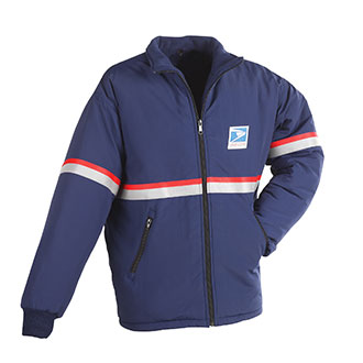 All Weather System Heavy Jacket/Liner for Men Letter Carriers and Motor Vehicle Service Operators