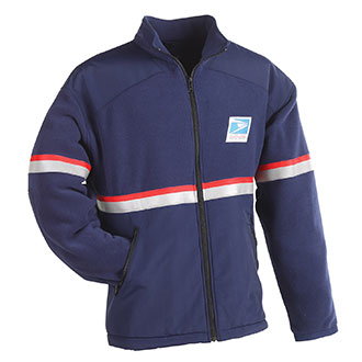 All Weather System Fleece Jacket/Liner for Men Letter Carriers and Motor Vehicle Service Operators