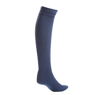 Pro Feet Postal Approved Blue Acrylic Over the Calf Socks - Medium
