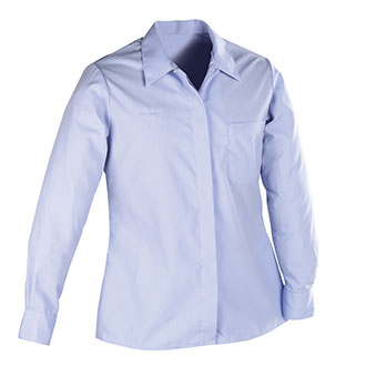 Womens Long Sleeve Shirt for Window Clerks