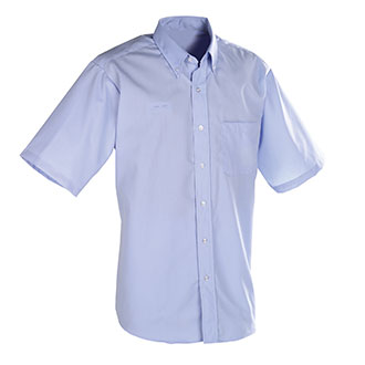 Mens Short Sleeve Shirt for Window Clerks
