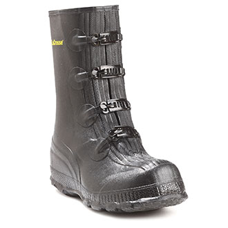 Four Buckle Rubber Boot