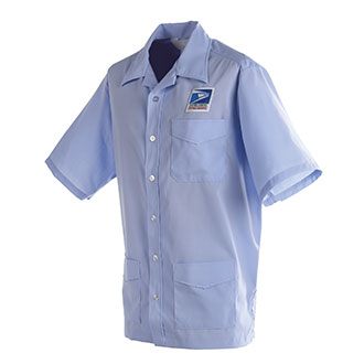 Postal Uniform Shirt Jac Mens for Letter Carriers and Motor Vehicle Service Operators