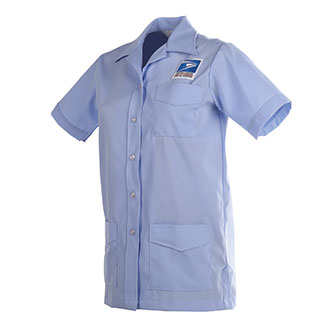 Postal Uniform Shirt Jac Womens for Letter Carriers and Motor Vehicle Service Operators