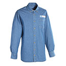 Postal Uniform Shirt Denim Long Sleeve for Mail Handlers and Maintenance Personnel