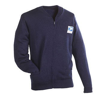 Postal Sweater Jersey Flat Knit for Letter Carriers and Motor Vehicle Service Operators