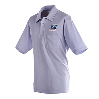 MENS POSTAL KNIT CARRIER POLO SHIRT
