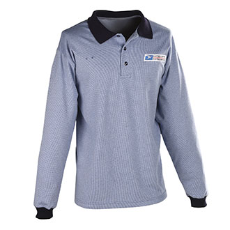 ELBECO WOMENS CLERK LONG SLEEVE POLO SHIRT