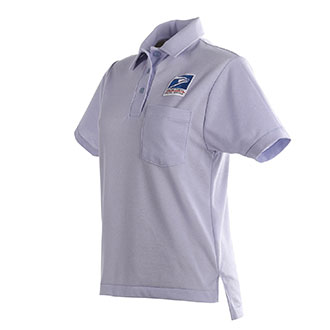 Womens Knit Polo Shirt for Letter Carriers and Motor Vehicle Service Operators