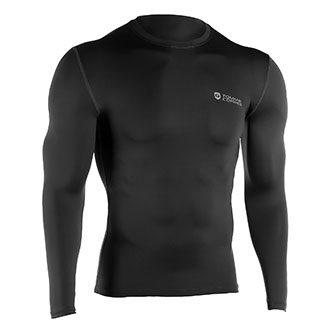 TOMMIE COPPER Mens Long Sleeve Compression Shirt NON REIMBURSABLE ITEM