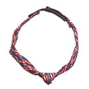 Ladies Knotted Loop Tie Stars and Stripes TKLSS